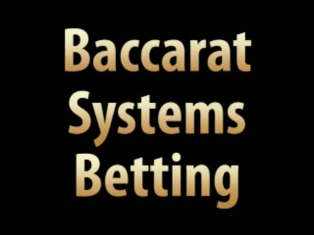 Bacarrat System