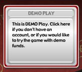 Click the demo play button to start the game
