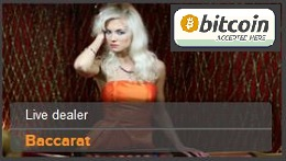 Play Baccarat with Bitcoins