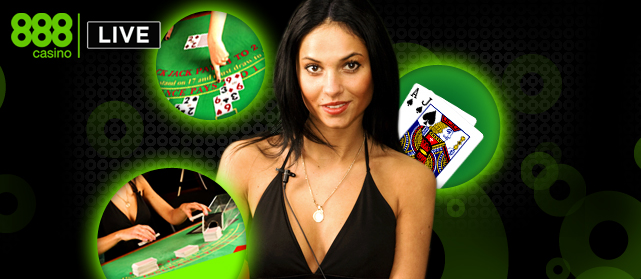 Play live baccarat to see the cards being dealt